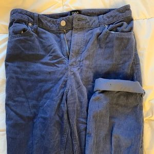 Urban outfitters BDG corduroy navy mom pants